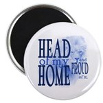 Head of my Home (Blue) Magnet