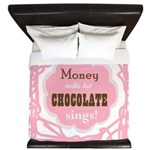 Chocolate Sings King Duvet