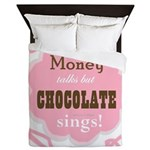 Chocolate Sings Queen Duvet