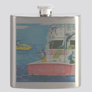 Gills Gone Wild Flask