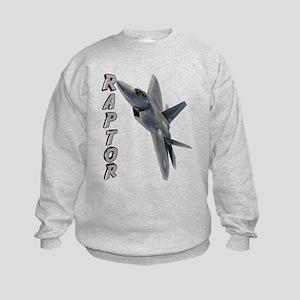 Air Force F22 Raptor Kids Sweatshirt