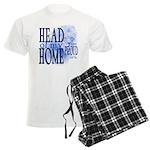Head of my Home BLUE Men's Light Pajamas