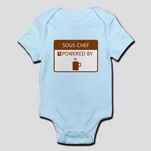 Sous Chef Powered by Coffee Infant Bodysuit