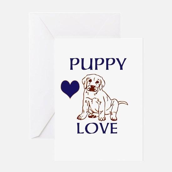 OYOOS Puppy Love design Greeting Card