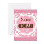 Chocolate Sings Greeting Cards (pk Of 10)