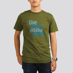 Use You Inside Voice Organic Men's T-Shirt (dark)
