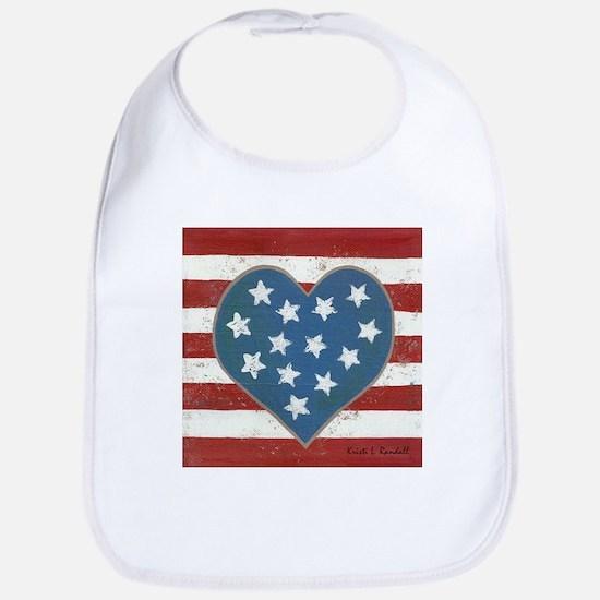 American Love Bib