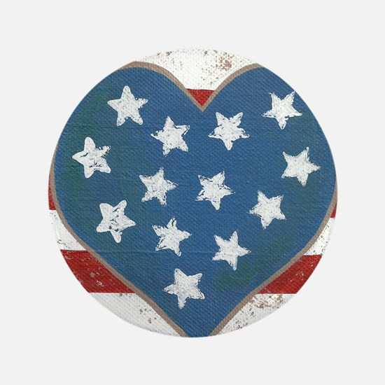 "American Love 3.5"" Button"