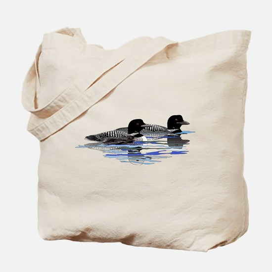 loon family Tote Bag