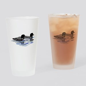 loon family Drinking Glass