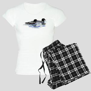 loon family Women's Light Pajamas