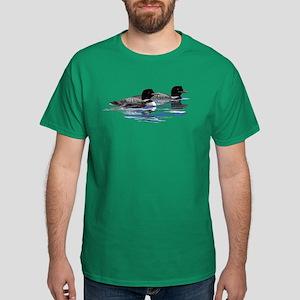 loon family Dark T-Shirt
