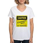 In Training Women's V-Neck T-Shirt