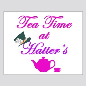 Tea Time at Hatters Small Poster