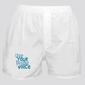 Use You Inside Voice Boxer Shorts