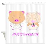 wedding Shower Curtain