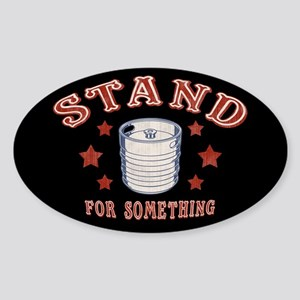 Kegstand For Something Sticker (Oval)