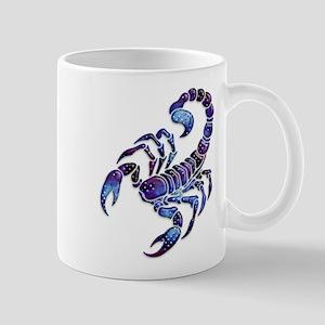 Celestial Rainbow Scorpion Mug