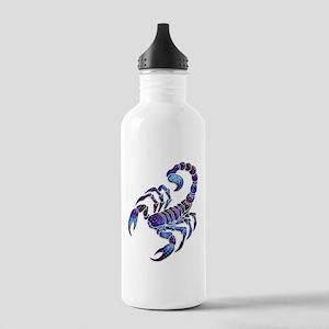 Celestial Rainbow Scorpion Stainless Water Bottle