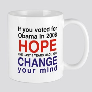 Hope and Change presidents Mug