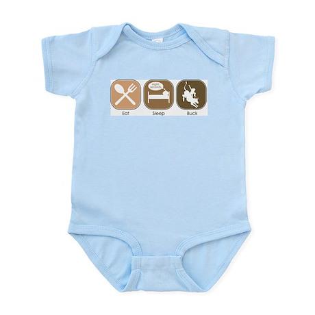 Eat Sleep Buck Infant Creeper
