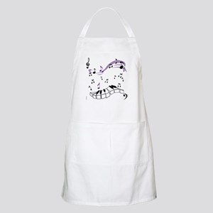 OYOOS Piano notes design Apron