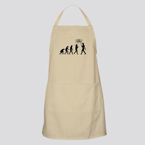 The Evolution Of Man. Turn Back Apron