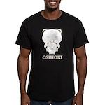 oshioki Men's Fitted T-Shirt (dark)