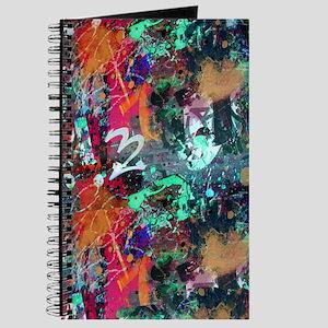 Graffiti and Paint Splatter Journal