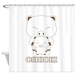 oshioki Shower Curtain