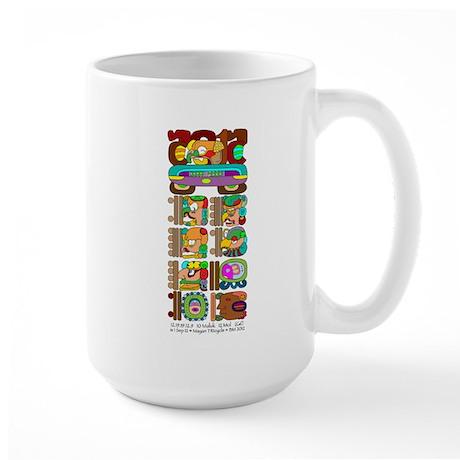 Mayan Stela Large Mug