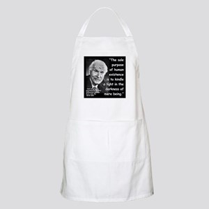Jung Purpose Quote 2 Apron