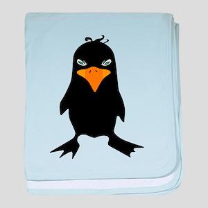 Grumpy Birdie baby blanket