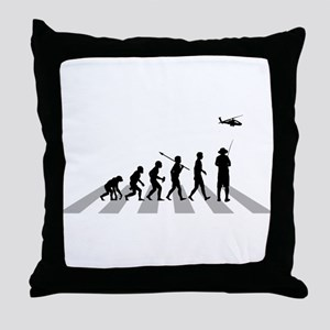Remote Control Helicopter Throw Pillow