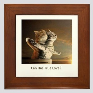 Titanic Cats Framed Tile