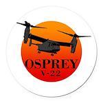 OSPREY Round Car Magnet