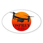 OSPREY Sticker (Oval 10 pk)