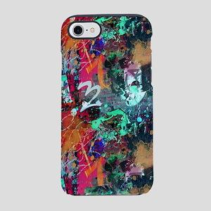 Graffiti and Paint Splatter iPhone 7 Tough Case
