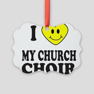 CHURCH CHOIR Picture Ornament