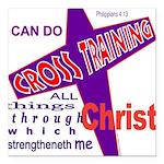 CrossTraining.png Square Car Magnet 3