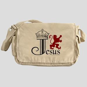 JesusCrownLion Messenger Bag