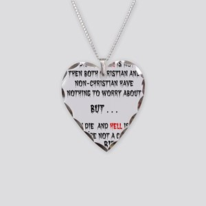IF YOU DIE Necklace Heart Charm