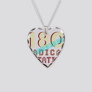 180 DEGREES Necklace Heart Charm