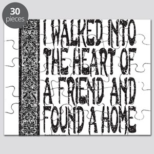 HEART OF A FRIEND Puzzle