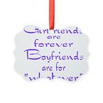 GIRLFRIENDS Picture Ornament