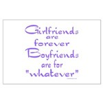 GIRLFRIENDS Large Poster