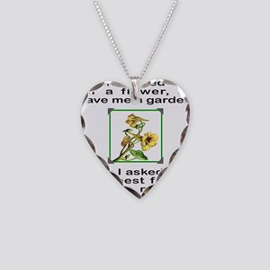 BFF GOD GAVE ME YOU Necklace Heart Charm