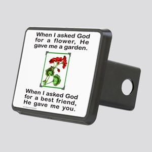 GOD GAVE ME YOU Rectangular Hitch Cover