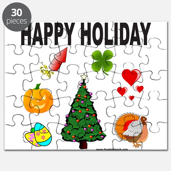 HAPPY HOLIDAY Puzzle