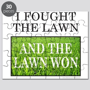 I FOUGHT THE LAWN Puzzle
